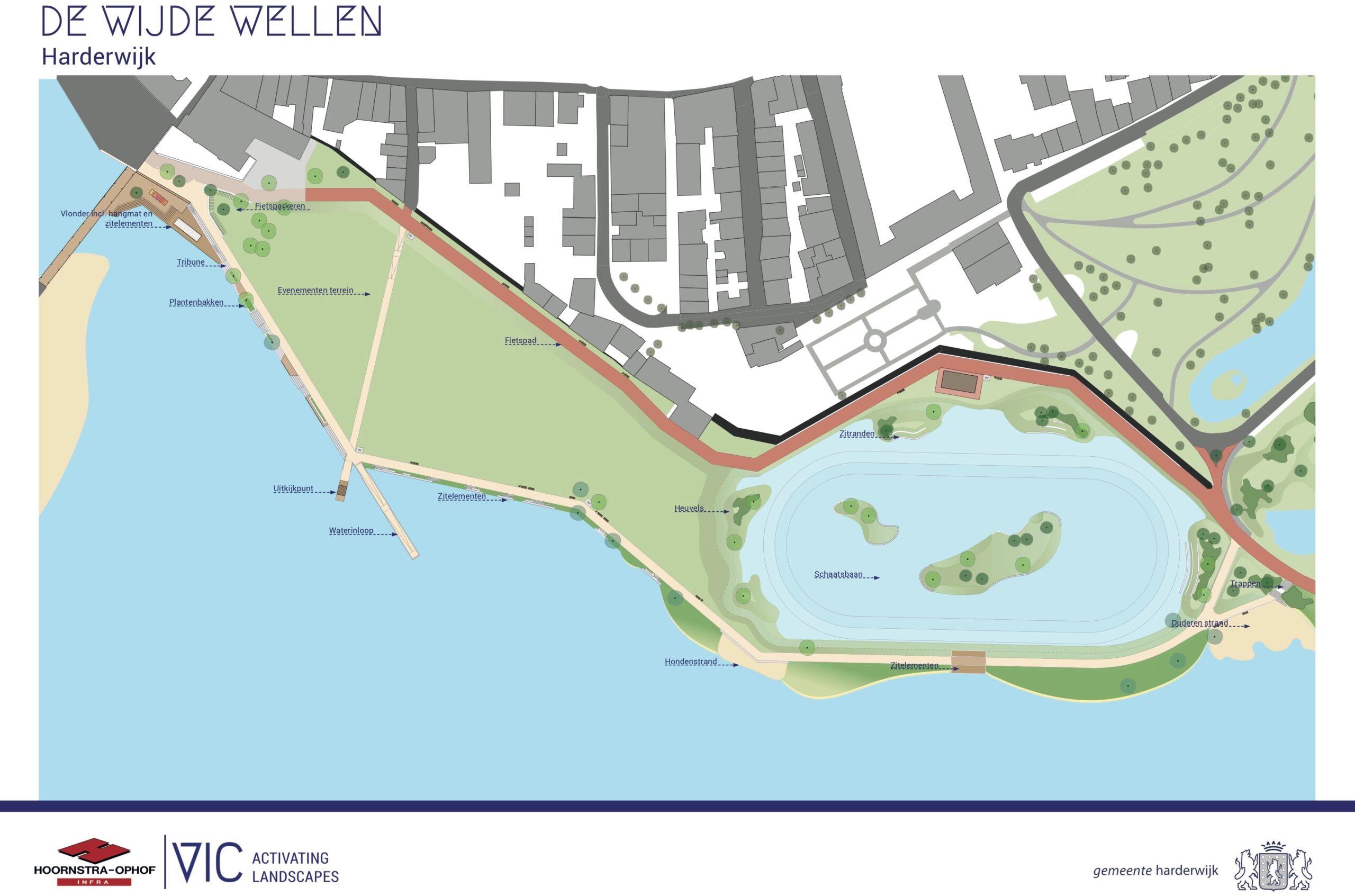 Kunstproject Esther van der Sluis - De Wijde Wellen Harderwijk
